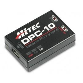 DPC-10 Programátor střídavých serv Hitec s PC rozhraním (mini-USB)