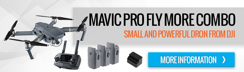 DJI - Mavic Pro Fly More Combo